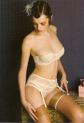 agent provocateur postcard with with love lingerie