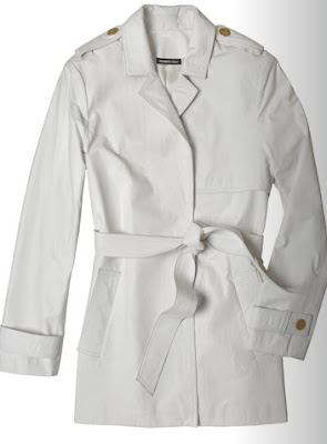 members only white trench