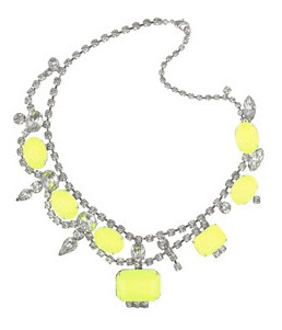 tom binns neon bead necklace