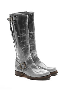 veronica patent vintage slouch boot