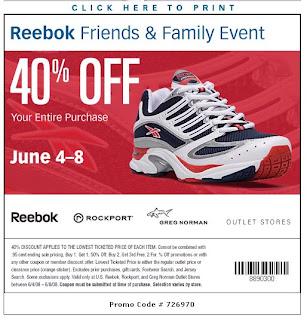 Reebok coupons 2018