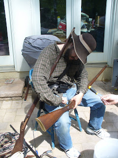 Civil war Reenactor Gun