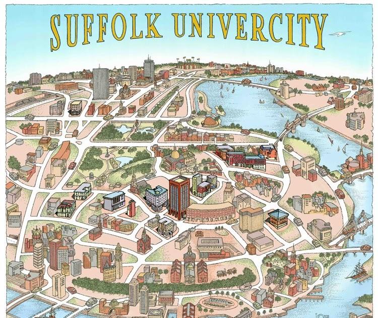 suffolk university campus map Laura Dedonato Studio Suffolk Univercity suffolk university campus map
