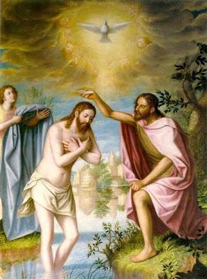 Resultado de imagen de Jesús vino de Galilea al Jordán donde estaba Juan, para ser bautizado»
