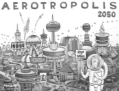 Urban Problems: some cartoons on urbanization