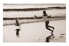 沙灘的片刻