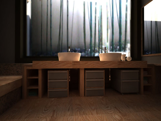 Anna Ovchinnikova: Bagno In Stile Giapponese