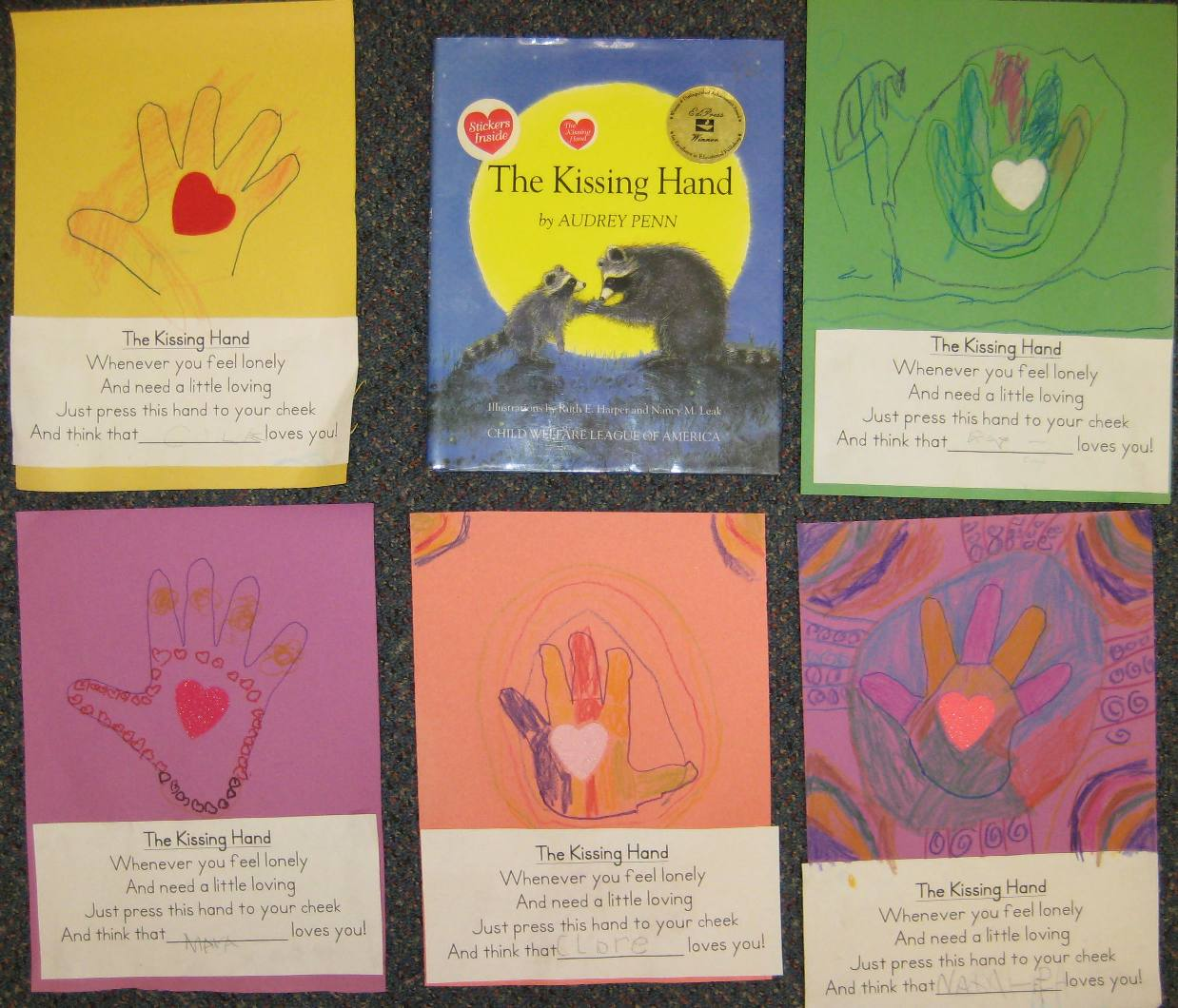 Ms Brown S Classroom The Kissing Hand