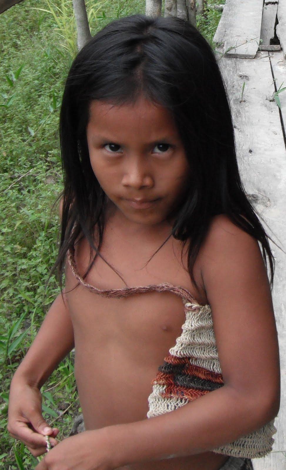 peru tribe girl