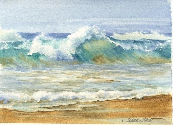 Susie Short S Watercolor Splashes Amp Splatters New Sand N