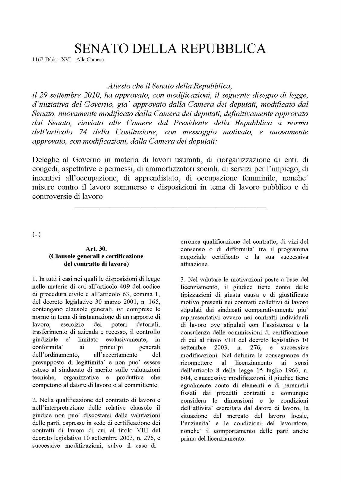 Lpd lavori usuranti iter parlamentare al senato della for Lavorare al senato della repubblica