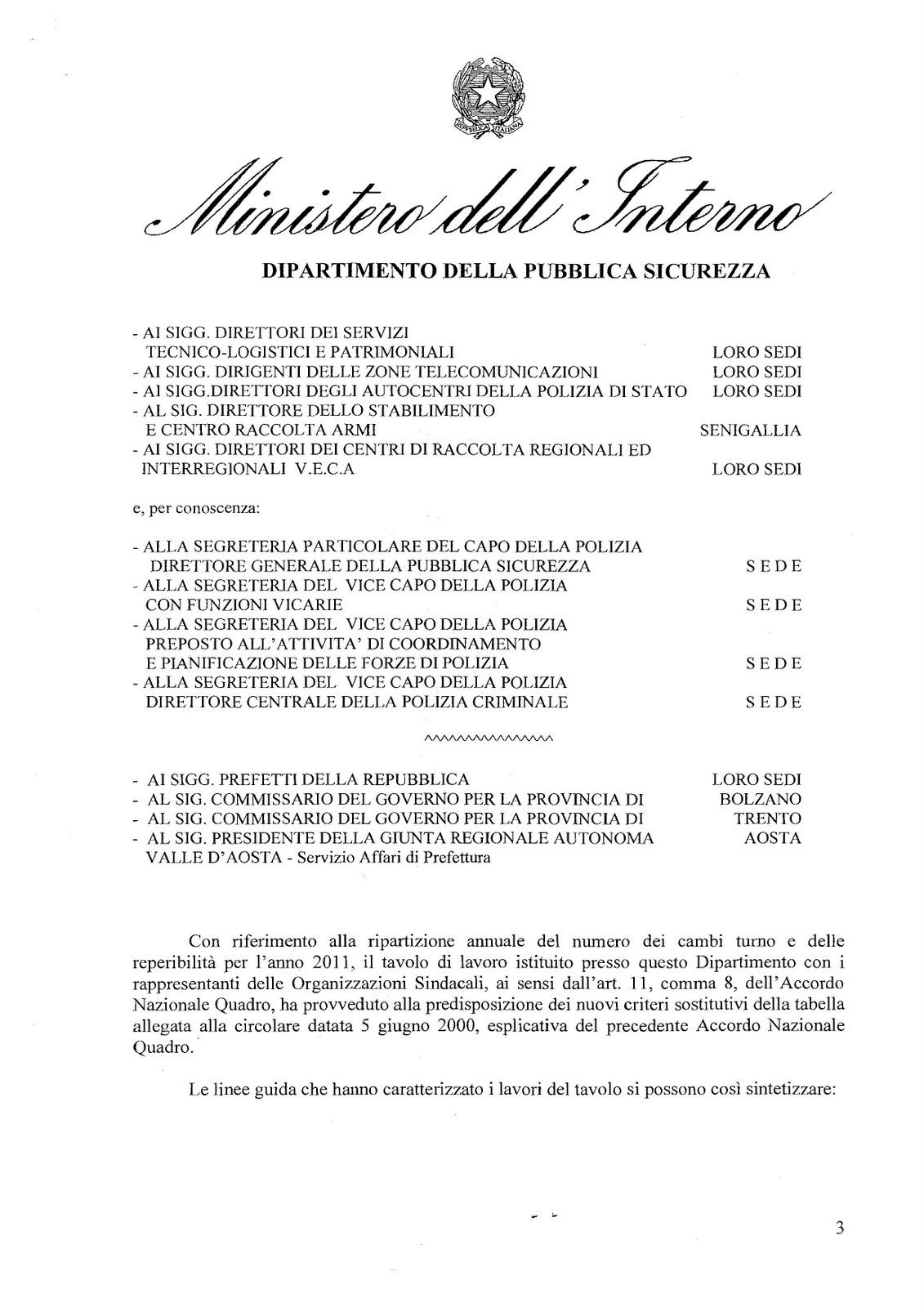 Lpd ministero dell 39 interno dipartimento della p s for Ministero interno p iva