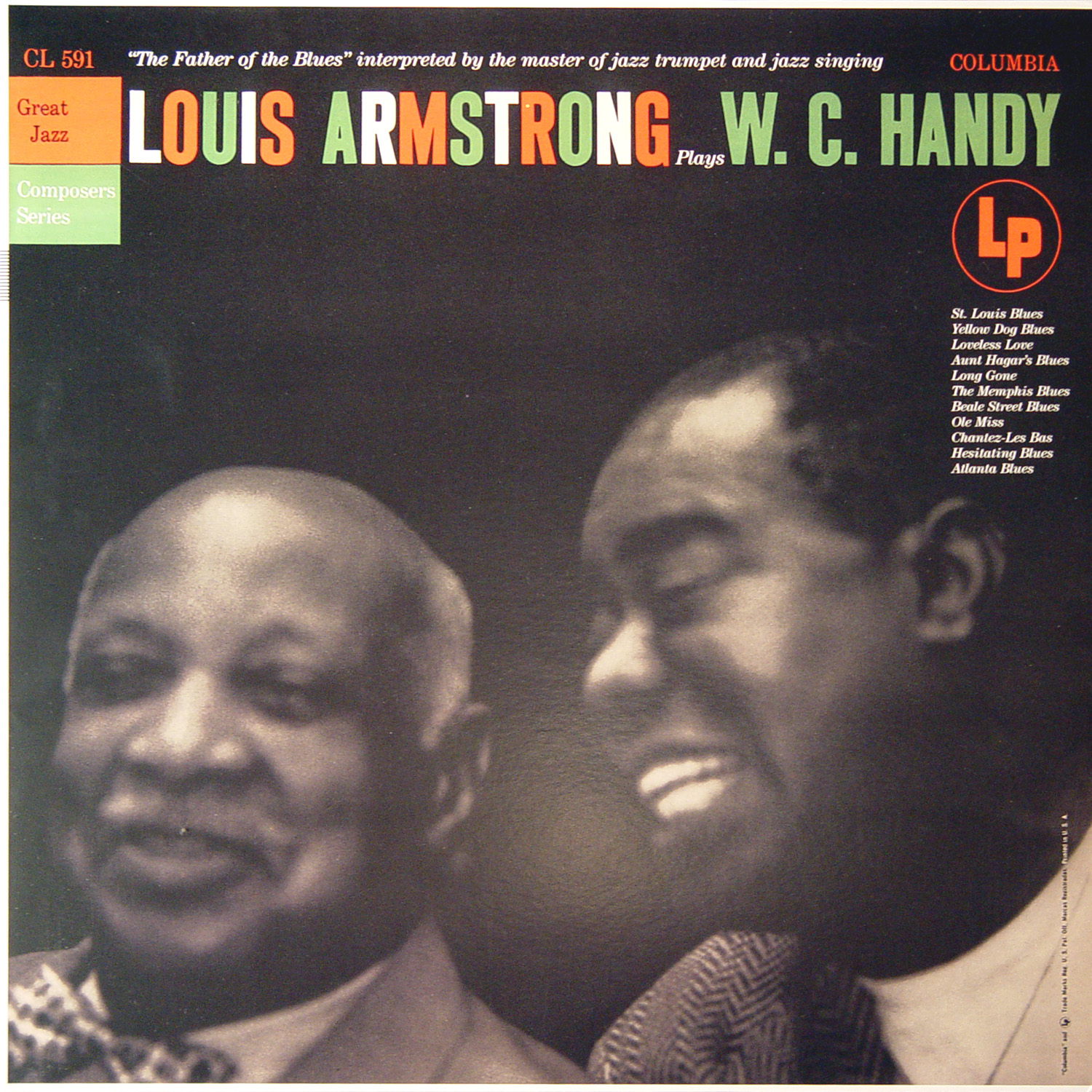 Louis Armstrong – Plays W.C. Handy   MilChapitas