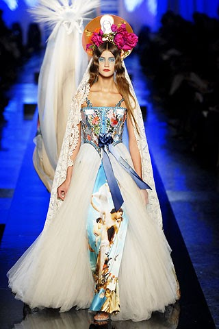 Couture Fashion Review Jean Paul Gaultier Spring 2007
