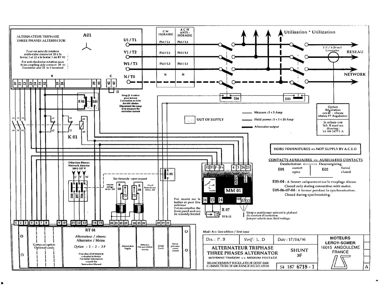 Green Energy In Malaysia Excitation Diagram For Labuk Power Station