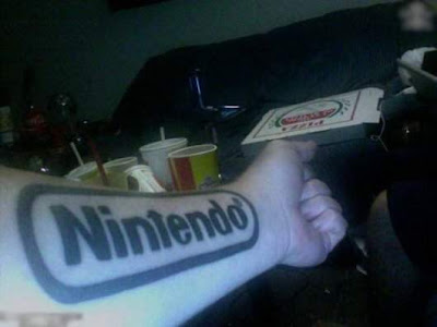 Tattoos for game lovers