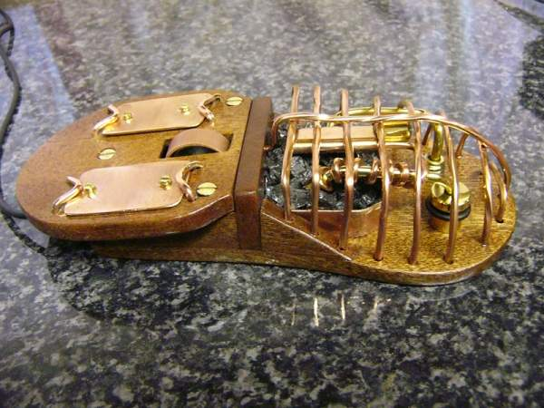 Steampunk Furnace Mouse