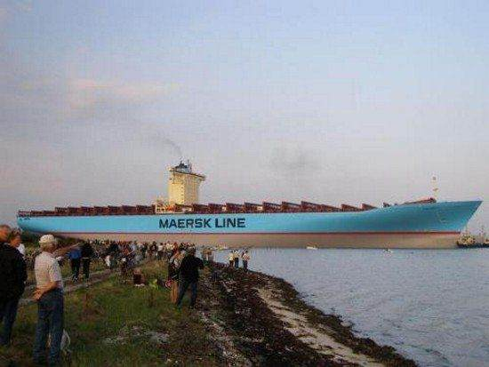 Largest container ship in the world: Maersk Line