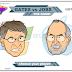 Bill Gates Vs. Steve Jobs - duello Jedi