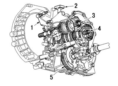2010 ford focus transmission diagram