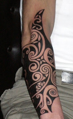 1000 Tattoo Blackwork Forearm
