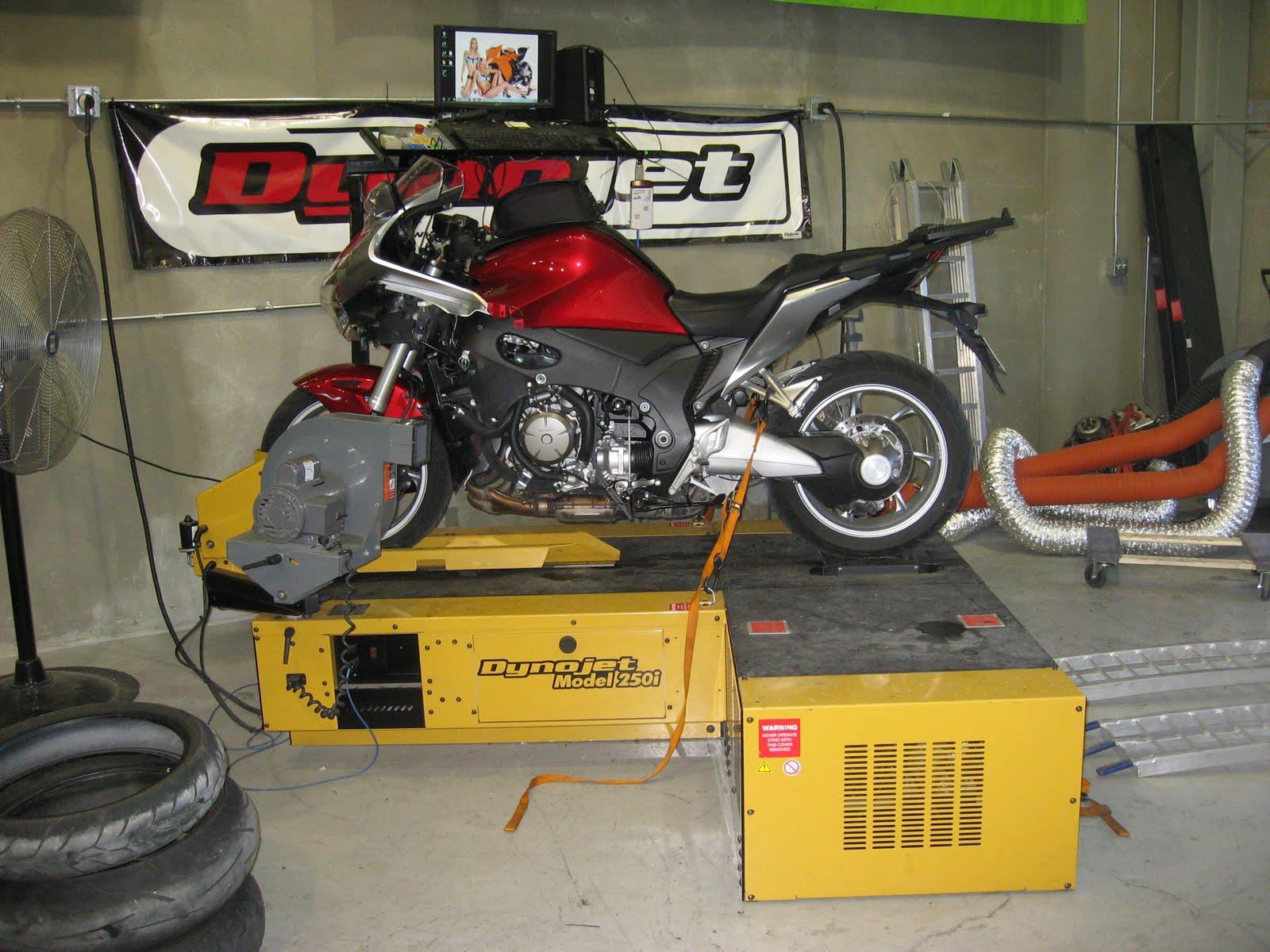Honda VFR1200F Weblog: Dyno Run