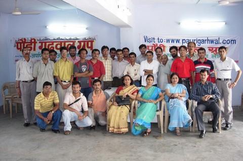The Pauri Garhwal Group Team!!