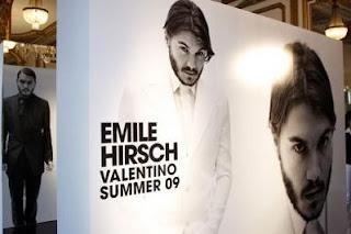 Fashion Forward: Emile Hirsch for Valentino (!)