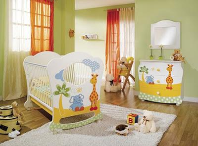 Decoracion de interiores dormitorios modernos de bebes - Decoracion interiores dormitorios ...