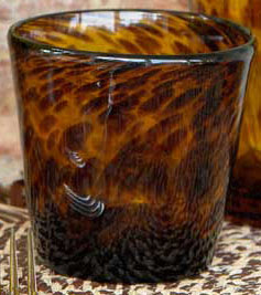 Dose Of Design Love It Tortoise Shell Glassware
