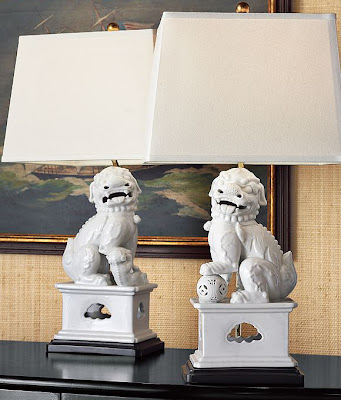 Dose Of Design Style Story White Ceramic Asian Lamps