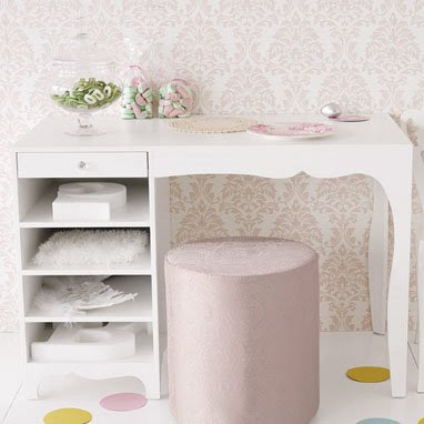 Love the silhouette of these  well   Silhouette Tables  from Brocade Home   Minimal white along with feminine curves add that subtle bit of design  interest. Dose of Design  April 2008