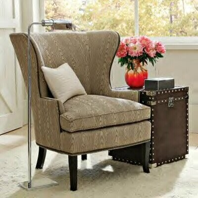 Dose Of Design Love It Faux Bois Wing Chair