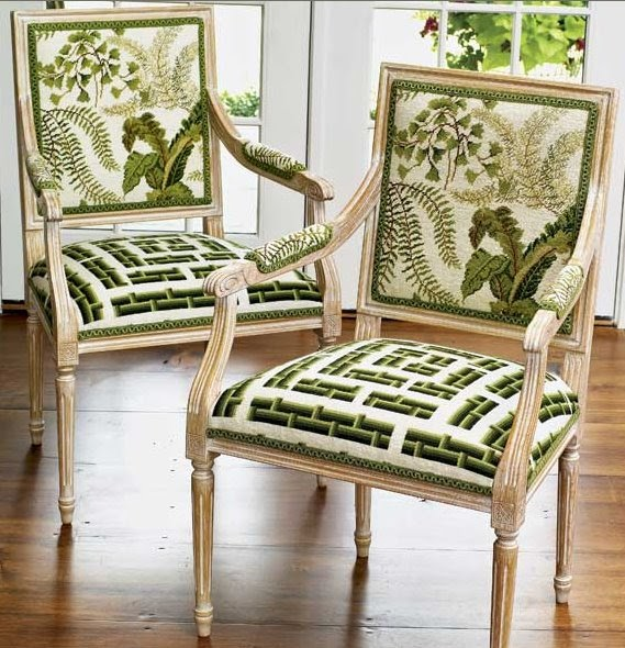 Dose Of Design Love It Needlepoint Chairs 2 For 1