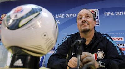 mengungkapkan kebahagiannya sehabis berhasil mengantarkan timnya juara Piala Dunia Antark Terkini Benitez: Inter Juara, Sekarang Dukunglah Saya