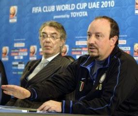 Kelangsungan karir Rafael Benitez di Inter Milan sedang dispekulasikan Terkini Moratti Masih Pede dengan Inter-nya Rafa