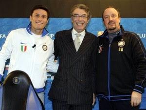 Presiden Inter Milan Massimo Moratti mengutarakan salah satu pengalaman yang beliau sebut uni Terkini Club World Cup sepi, Moratti heran