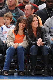 SPOTTED: Courtside