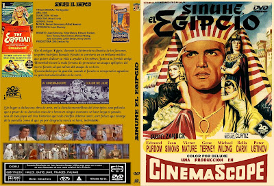 Sinuhe el egipcio | 1954 | The Egyptian | Caratula | Dvd