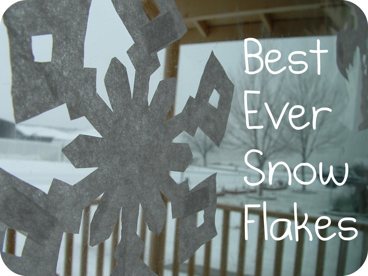 Pieces by Polly: Best Ever Paper Snowflakes