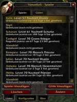 WoW Addon, World of Warcraft Addon, KOS-Liste, VanasKOS