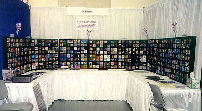 9-11 Bead Quilt, first public display in San Diego