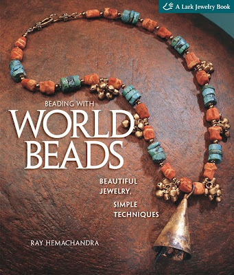 Beading With World Beads, book cover