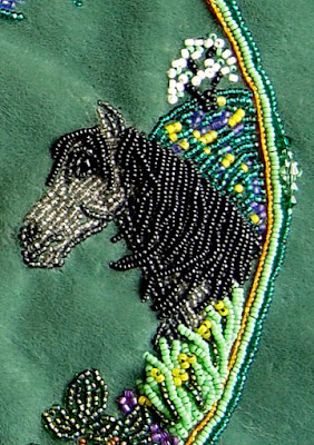 Beadlust Beautiful Detailed Bead Embroidery by Janet Dann