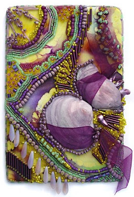 Bead Journal Project, Christi Carter, lavender