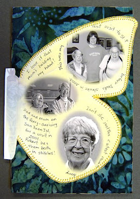 bead journal project, Robin Atkins, attached back page
