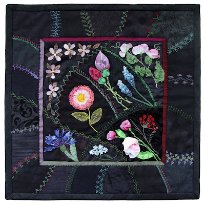 crazy quilt by Robin Atkins, Fossies