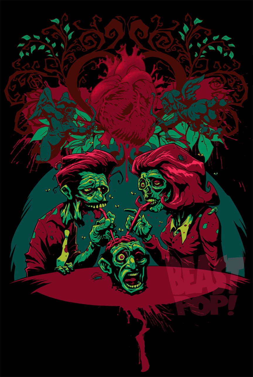 BeastPop ArtWorks: ZOMBIE LOVE!
