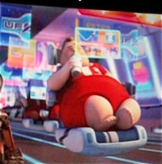 Fat Human in Wall E