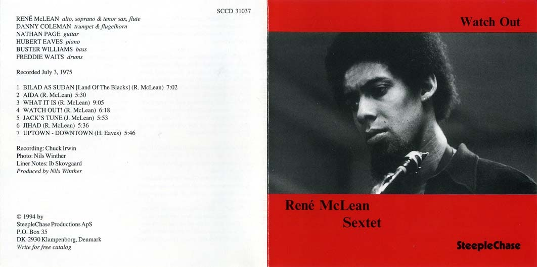 brian: René McLean - Watch Out